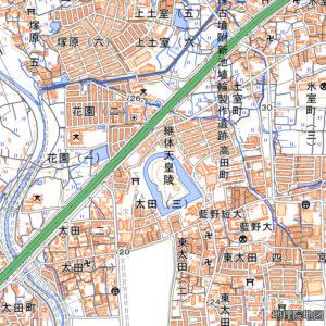 継体天皇陵地図